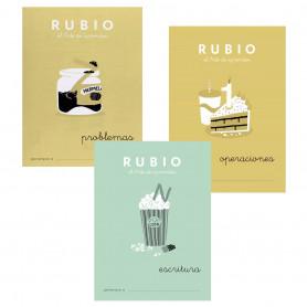 Cuadernos Escritura, Operaciones y Problemas 6 Años Rubio