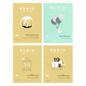 Cuadernos Escritura, Operaciones y Problemas 11 Años Rubio