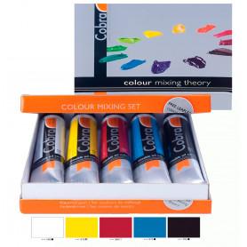 Set Óleo Cobra 5 Colores Básicos