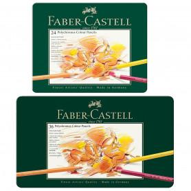 Caja Metal Pinturas Polychromos Faber Castell