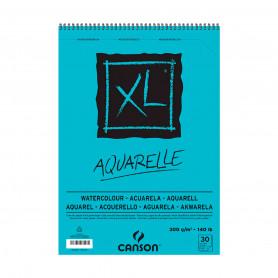 Bloc Aquarelle 300gr 30 hojas XL Canson