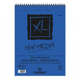 bloc-espiral-30-hojas-300-gr-mix-media-xl-canson