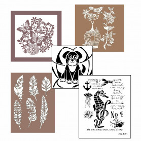 plantillas-stencil-personajes-animales-y-plantas-cadence