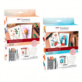 Set Rotuladores Acuarelables May & Berry Tombow
