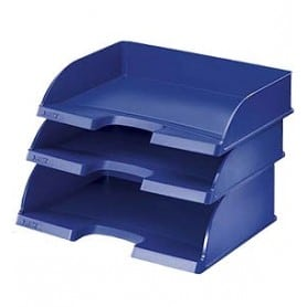 Bandeja apaisada Jumbo Plus Azul