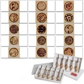 Colección 15 puntas surtidas pirografo 508 - 00