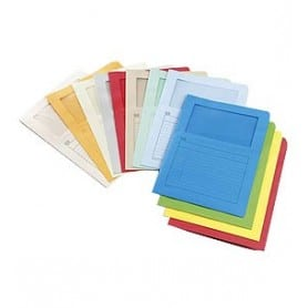 Subcarpeta folio Colores surtidos