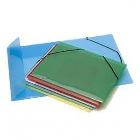 Carpeta de gomas Propyglass Colores surtidos