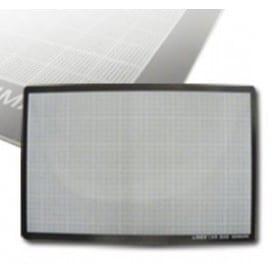 Plancha salvacortes LINEX negra 45 x 60 cm