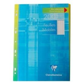 Recambio hojas Clairefontaine A4 séyes 400 páginas