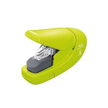 Grapadora sin grapas Verde