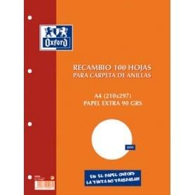 Recambio Oxford A4 100h Ref 17102199