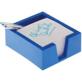 Portanotas Azul