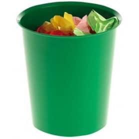Papelera Compacta Verde