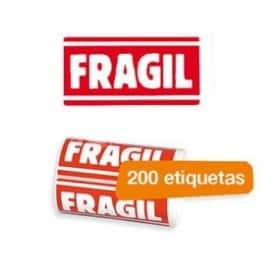 Etiqueta de FRÁGIL