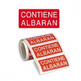 Etiqueta Albarán