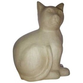 Gato sentado Décopatch grande