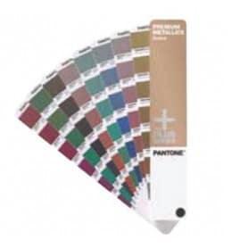 Guía de color PANTONE Premium metallic formula guide