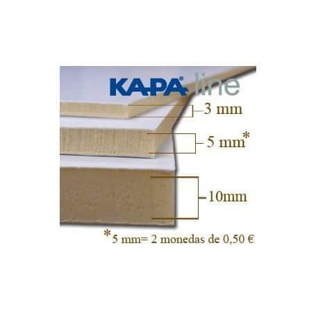 Caja 48 planchas Cartón pluma 10 mm - A4