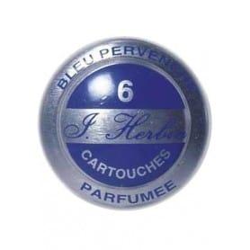 Cartuchos tinta HERBIN azul pervenche Caja 6 unidades