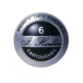 Cartuchos tinta HERBIN perla de tinta Caja 6 unidades