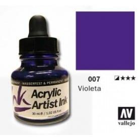 Tinta acrílica Acrylic Artist Ink 007 Violeta