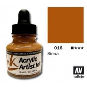 Tinta acrílica Acrylic Artist Ink 016 Siena