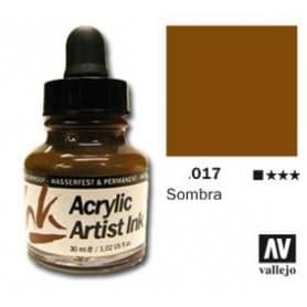 Tinta acrílica Acrylic Artist Ink 017 Sombra