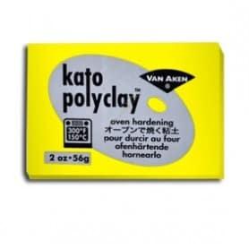 Arcilla Polimérica Kato Amarillo 56 gr