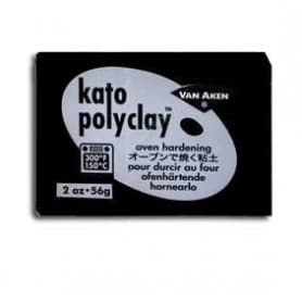 Arcilla Polimérica Kato Negro 56 gr