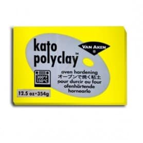 Arcilla Polimérica Kato Amarillo 354 gr