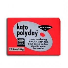 Arcilla Polimérica Kato Rojo 354 gr