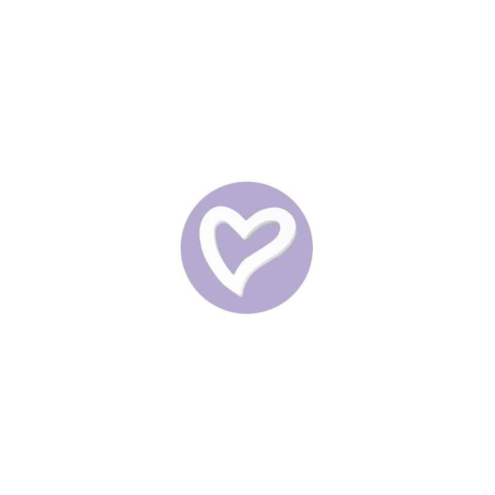 Corazón marco forma Décopatch