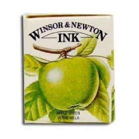 Tinta china Winsor & Newton Verde Manzana