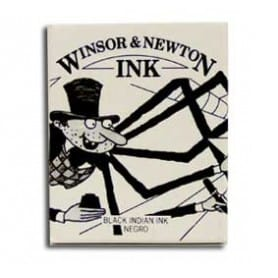 Tinta china Winsor & Newton Negro Indio