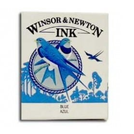 Tinta china Winsor & Newton Azul