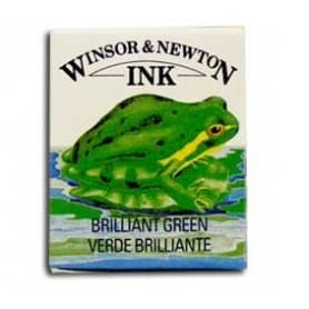 Tinta china Winsor & Newton Verde Brillante