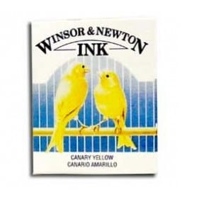 Tinta china Winsor & Newton Amarillo Canario