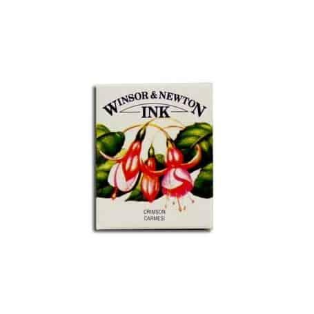 Tinta china Winsor & Newton Carmesí