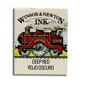 Tinta china Winsor & Newton Rojo Oscuro