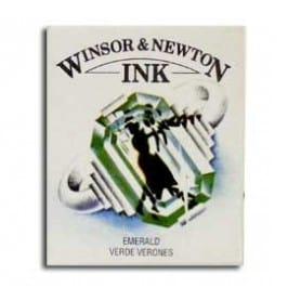 Tinta china Winsor & Newton Esmeralda