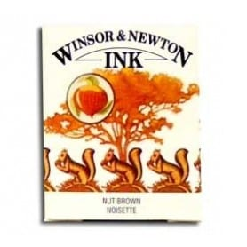 Tinta china Winsor & Newton Nogal