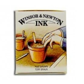 Tinta china Winsor & Newton Sepia