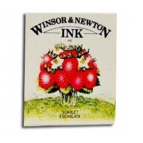 Tinta china Winsor & Newton Escarlata