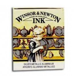 Tinta china Winsor & Newton Plata