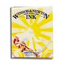 Tinta china Winsor & Newton Amarillo Sol