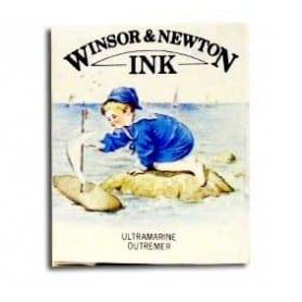 Tinta china Winsor & Newton Ultramar