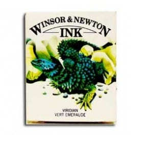 Tinta china Winsor & Newton Verde Viridiano