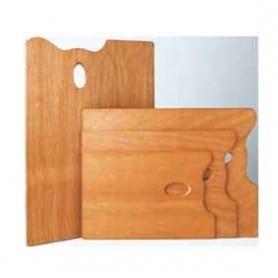 Paleta pintor rectangular Mabef 25 x 35 cm