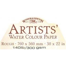 Papel lana Winsor & Newton 76 x 56 cm Grano grueso